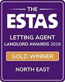 ESTAS Letting Agent gold Winner